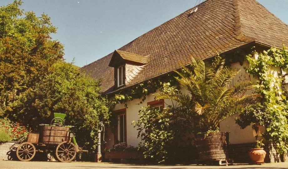 Hof des Weingutes Paulinshof